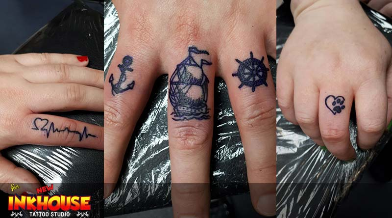 Aberdeen Tattoo Studio Finger Tattoos